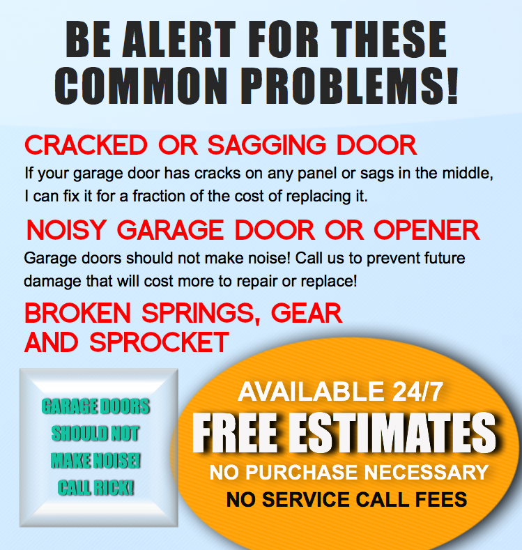 Garage Door Parts Glendale Peoria Surprise Az